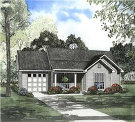 House Plan #153-1657