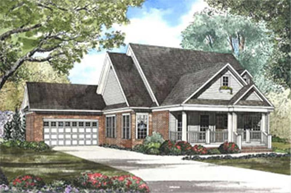Main image for house plan # 3807