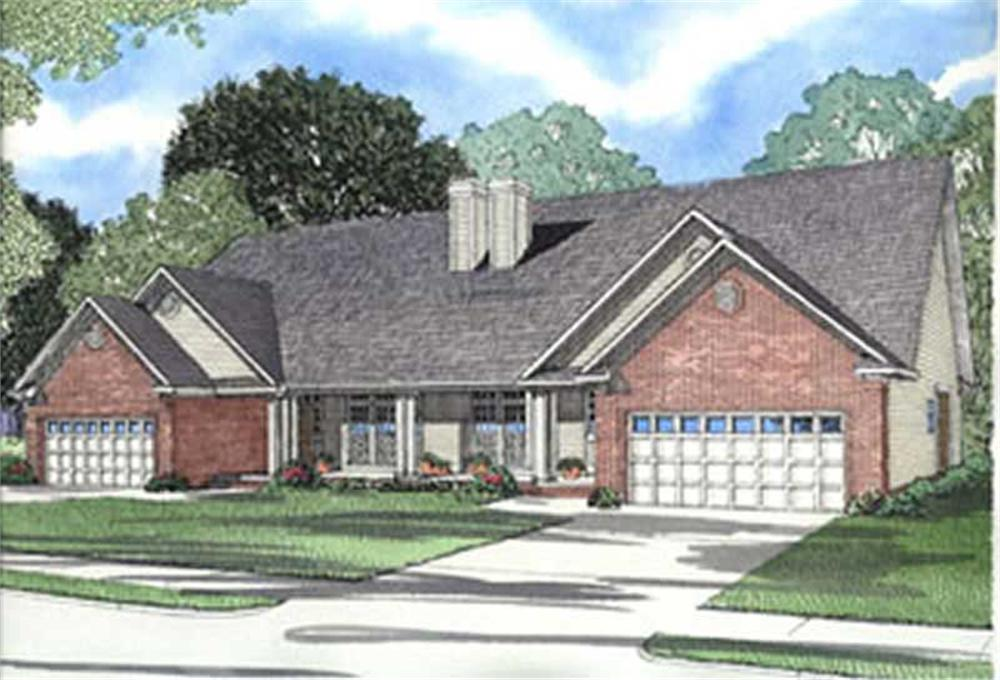 Main image for house plan # 3934