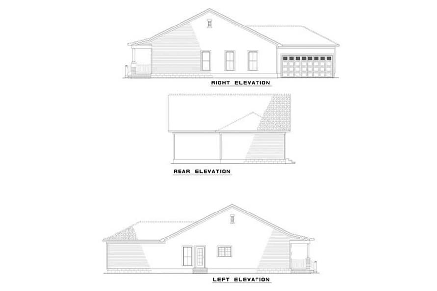 Home Plan Other Image of this 3-Bedroom,1374 Sq Ft Plan -153-1669