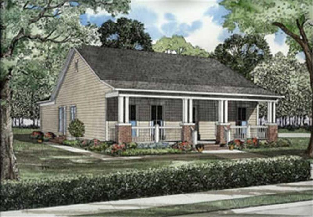Main image for house plan # 4063
