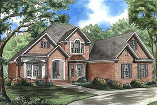 Main image for house plan # 3940