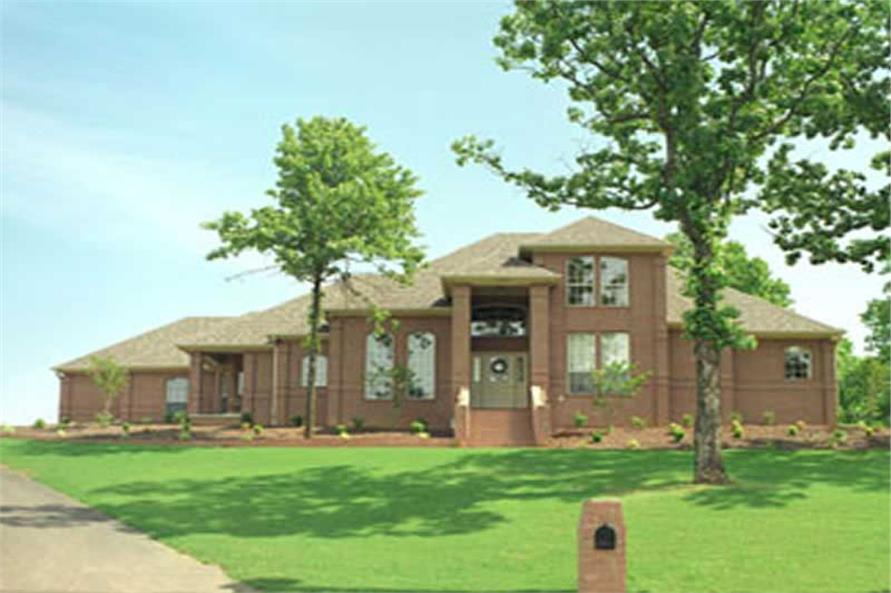 Exterior Photo of this 4-Bedroom,2824 Sq Ft Plan -2824