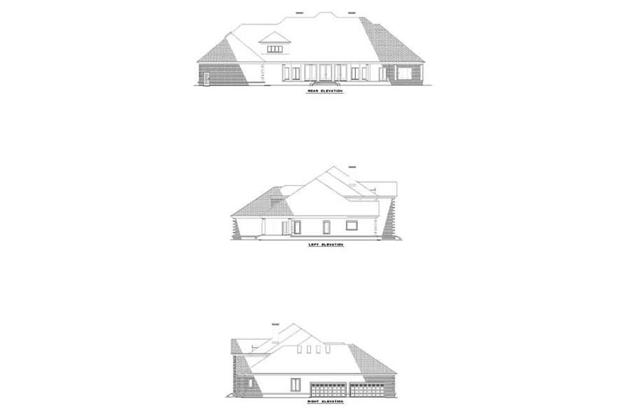 Home Plan Other Image of this 4-Bedroom,6388 Sq Ft Plan -153-1672