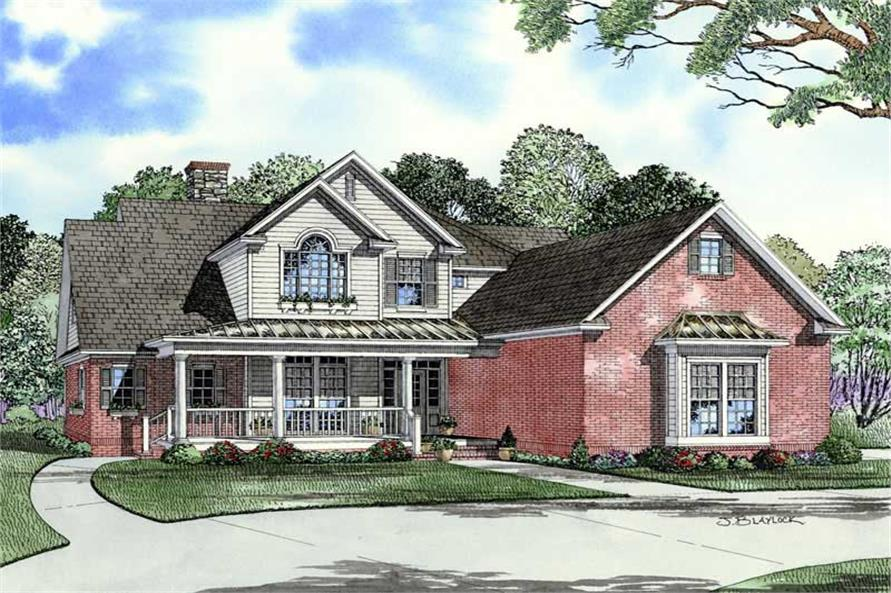 Main image for house plan # 9234