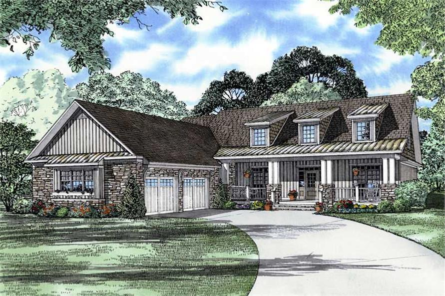Main image for house plan # 8480