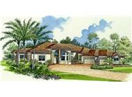 Main image for house plan # 10006