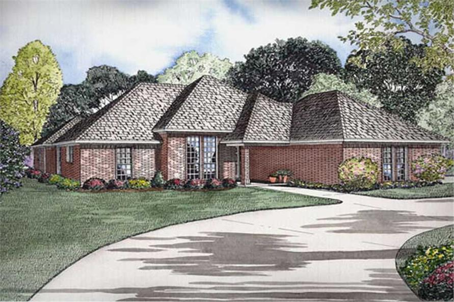 Main image for house plan # 9905