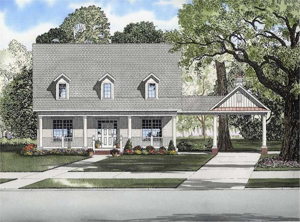 Main image for house plan # 8214