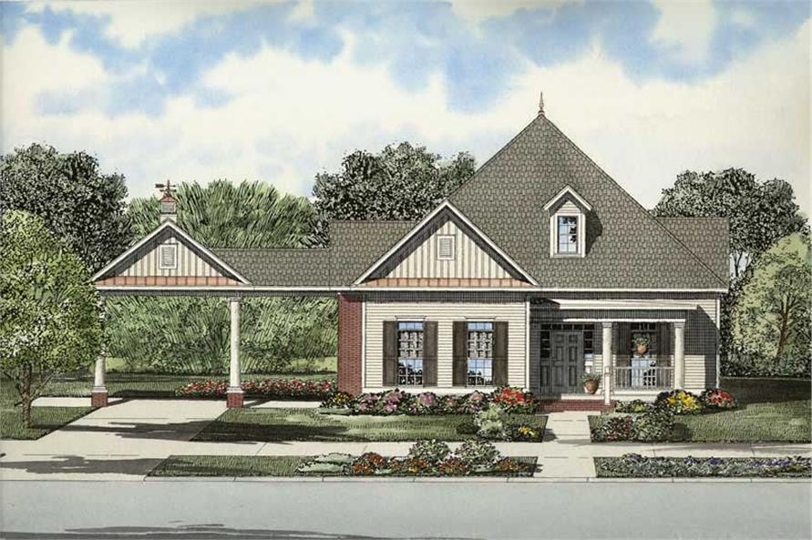 Main image for house plan # 8212