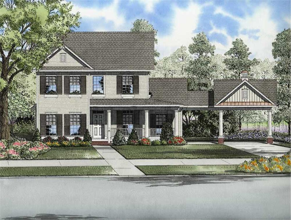 Main image for house plan # 8225