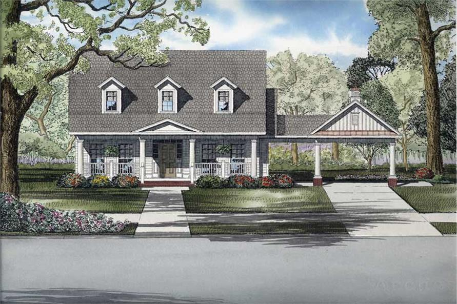 Main image for house plan # 8227