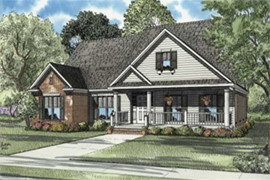 Main image for house plan # 7902