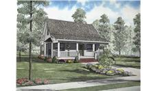 Main image for house plan # 8474