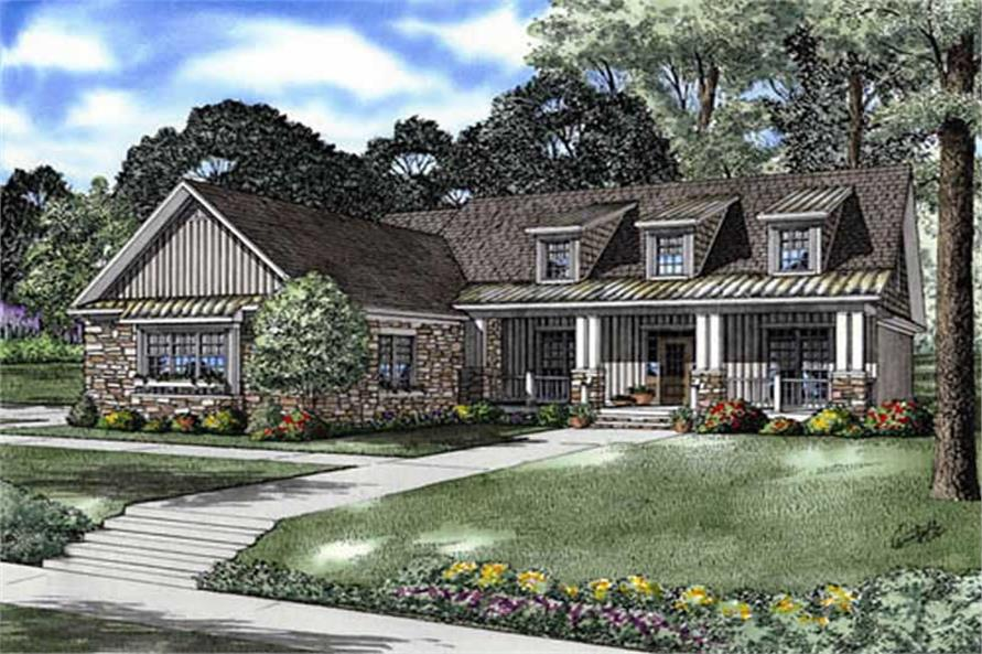 Main image for house plan # 9219