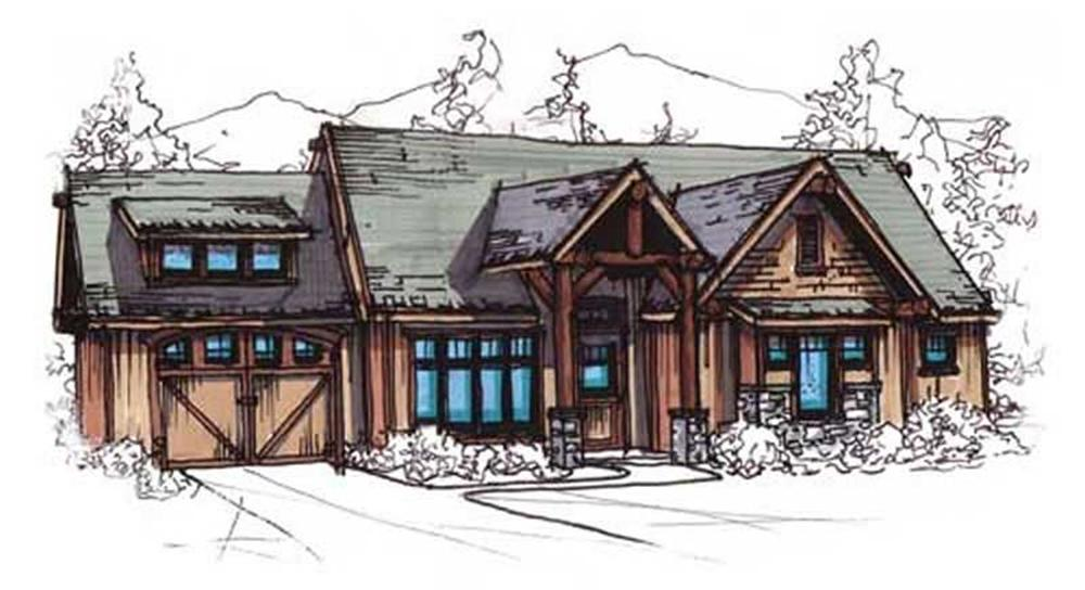 Main image for house plan # 11475