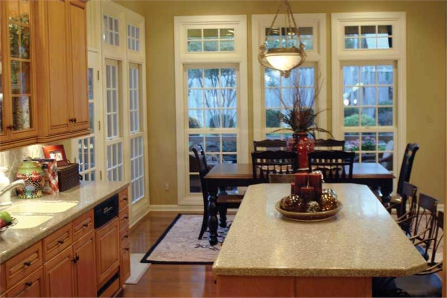 Nook & Kitchen of this 3-Bedroom,3901 Sq Ft Plan -3901