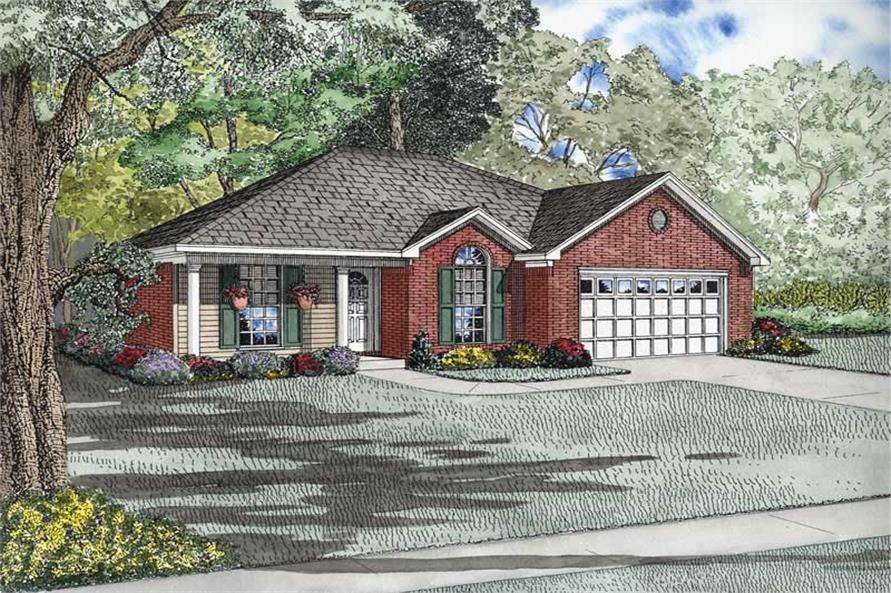 Main image for house plan # 9224