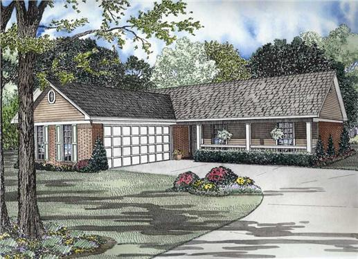 Main image for house plan # 8472