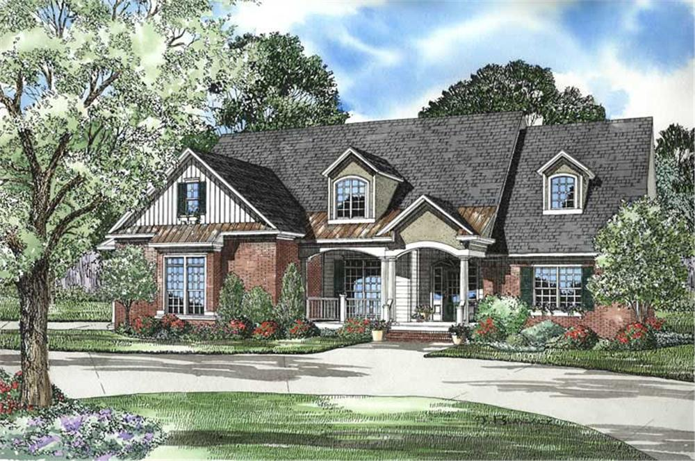 Main image for house plan # 9228