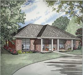 House Plan #153-1732