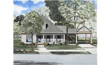 Main image for house plan # 8211