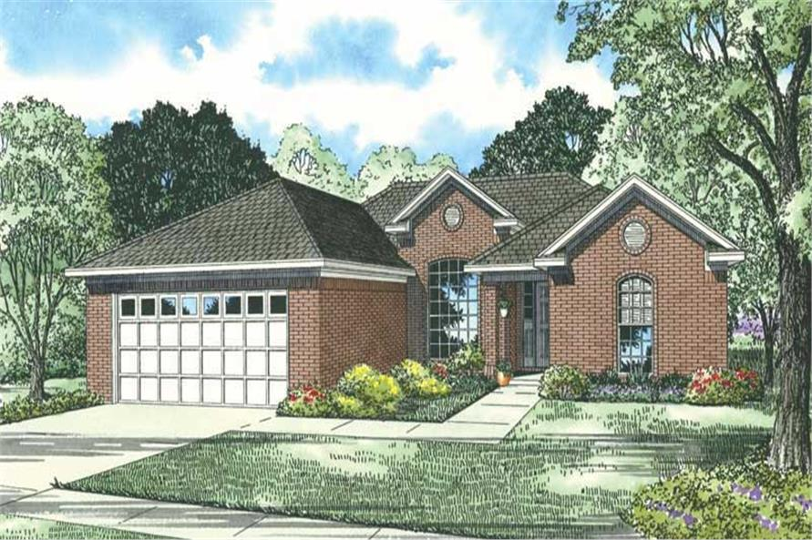 Main image for house plan # 19829