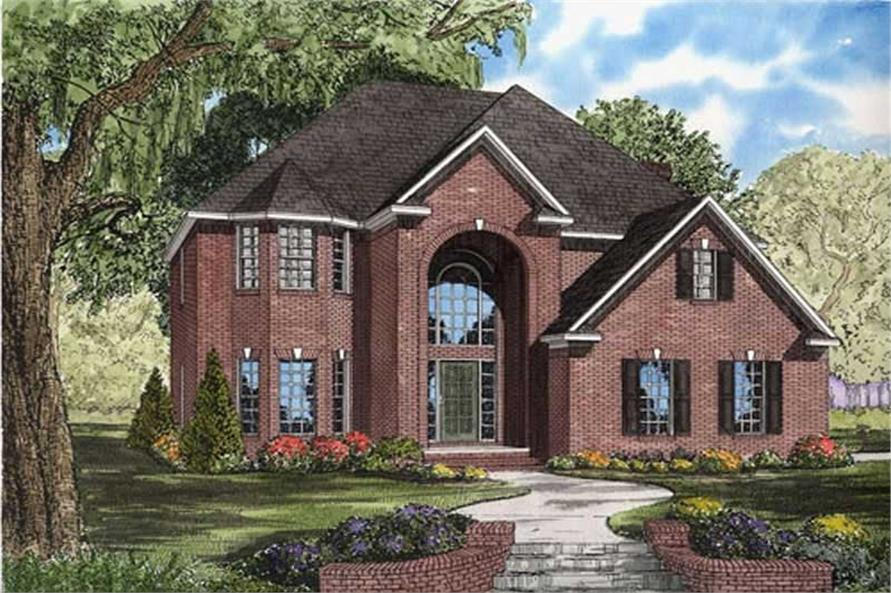 Main image for house plan # 7814