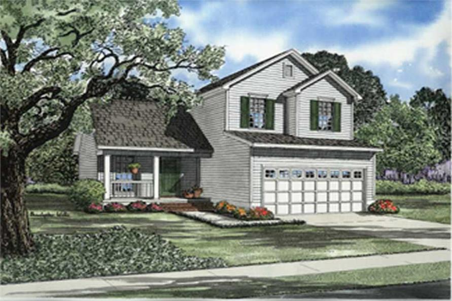 Main image for house plan # 8242