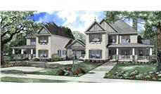 Main image for house plan # 9214