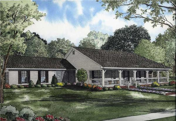 Main image for house plan #153-1744
