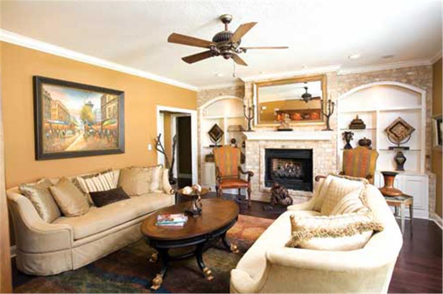 153-1746: Home Interior Photograph-Hearth Room