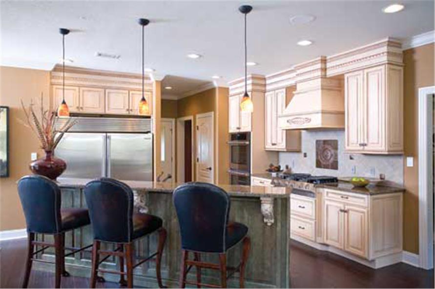 153-1746: Home Interior Photograph-Kitchen