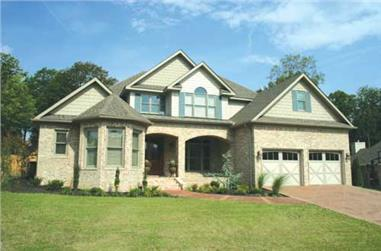 Photo of this contemporary Craftsman home # 153-1746