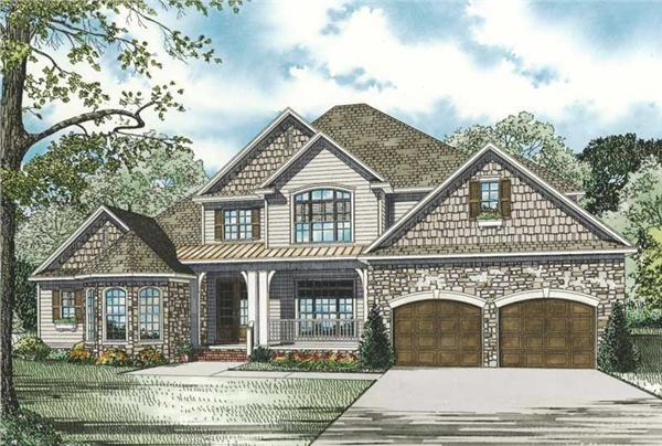 Main image for house plan # 19832