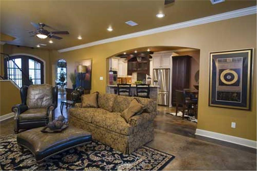 Great Room of this 4-Bedroom,2889 Sq Ft Plan -2889