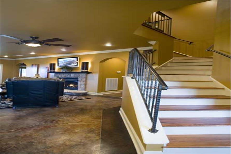 Stairs of this 4-Bedroom,2889 Sq Ft Plan -2889
