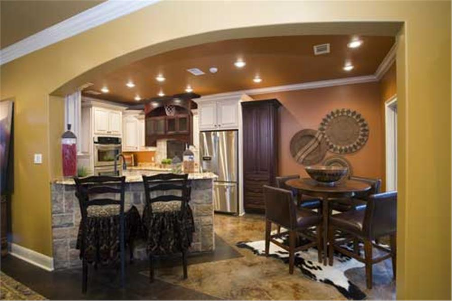 Kitchen and Nook of this 4-Bedroom,2889 Sq Ft Plan -2889