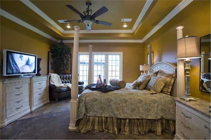 Master Bedroom of this 4-Bedroom,2889 Sq Ft Plan -2889