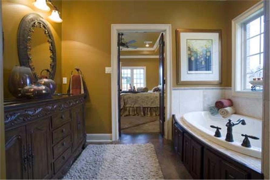 Master Bath of this 4-Bedroom,2889 Sq Ft Plan -2889