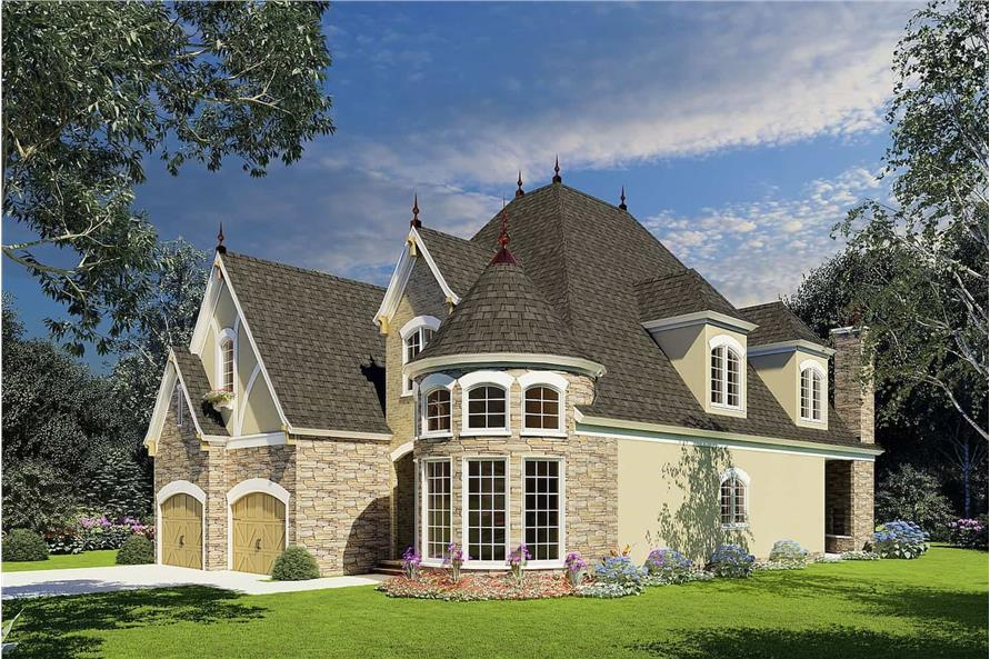 Right View of this 4-Bedroom,2889 Sq Ft Plan -153-1750