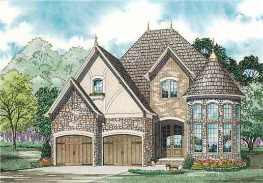 Main image for house plan # 19833