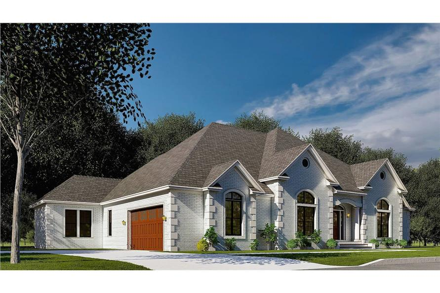 Left View of this 4-Bedroom,2833 Sq Ft Plan -153-1751
