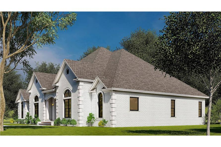 Right View of this 4-Bedroom,2833 Sq Ft Plan -153-1751