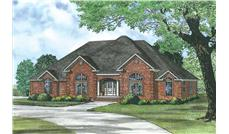 Main image for house plan # 19834