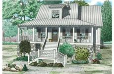 Main image for house plan # 19835