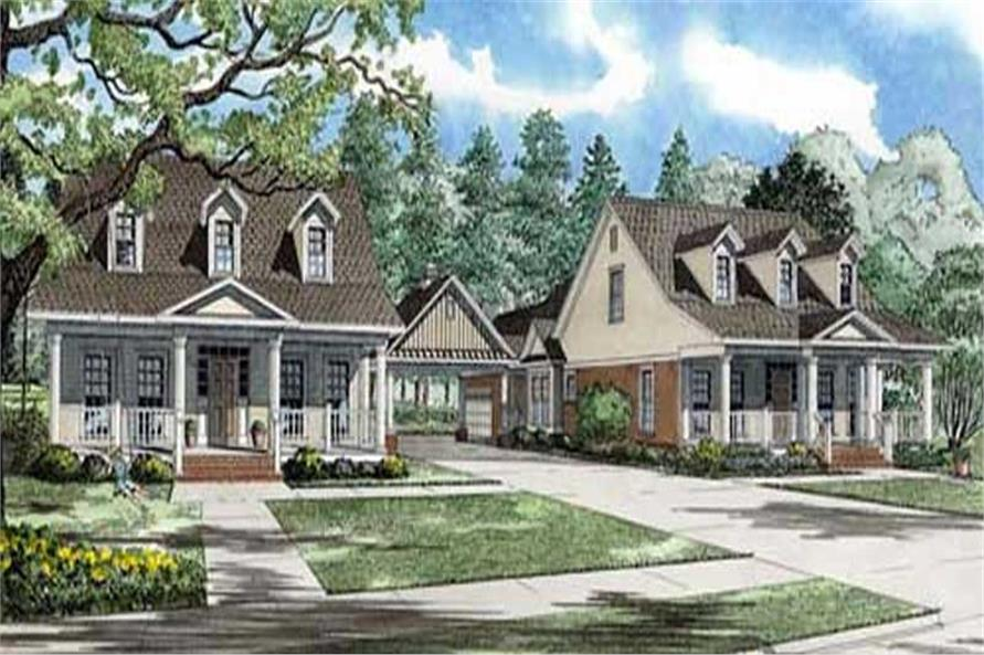 Main image for house plan # 11480