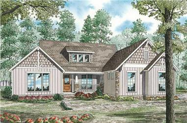 4-Bedroom, 3016 Sq Ft House Plan - 153-1754 - Front Exterior