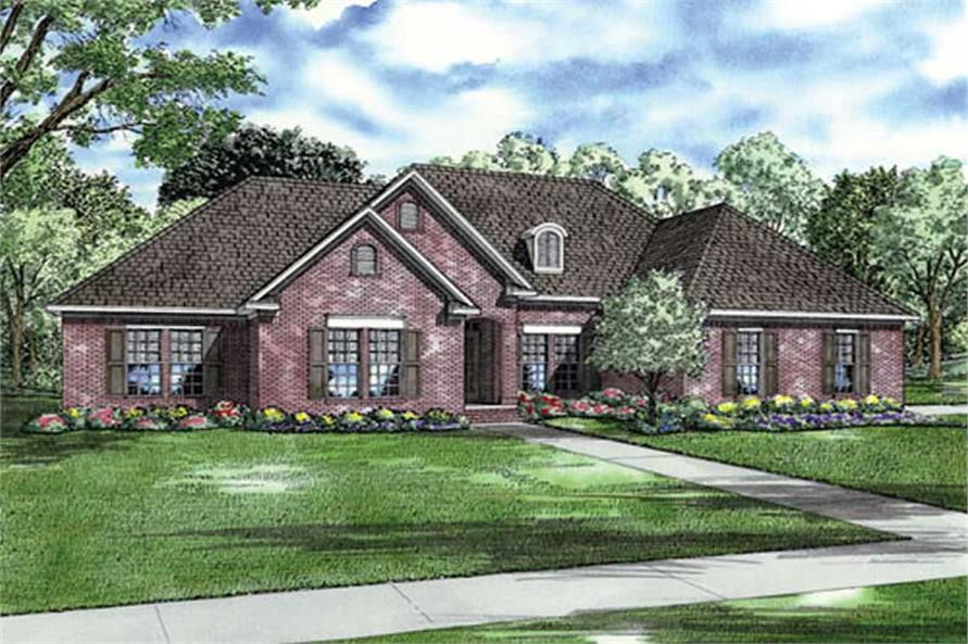 Main image for house plan # 9236