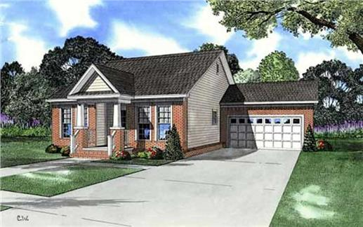 Main image for house plan # 11504